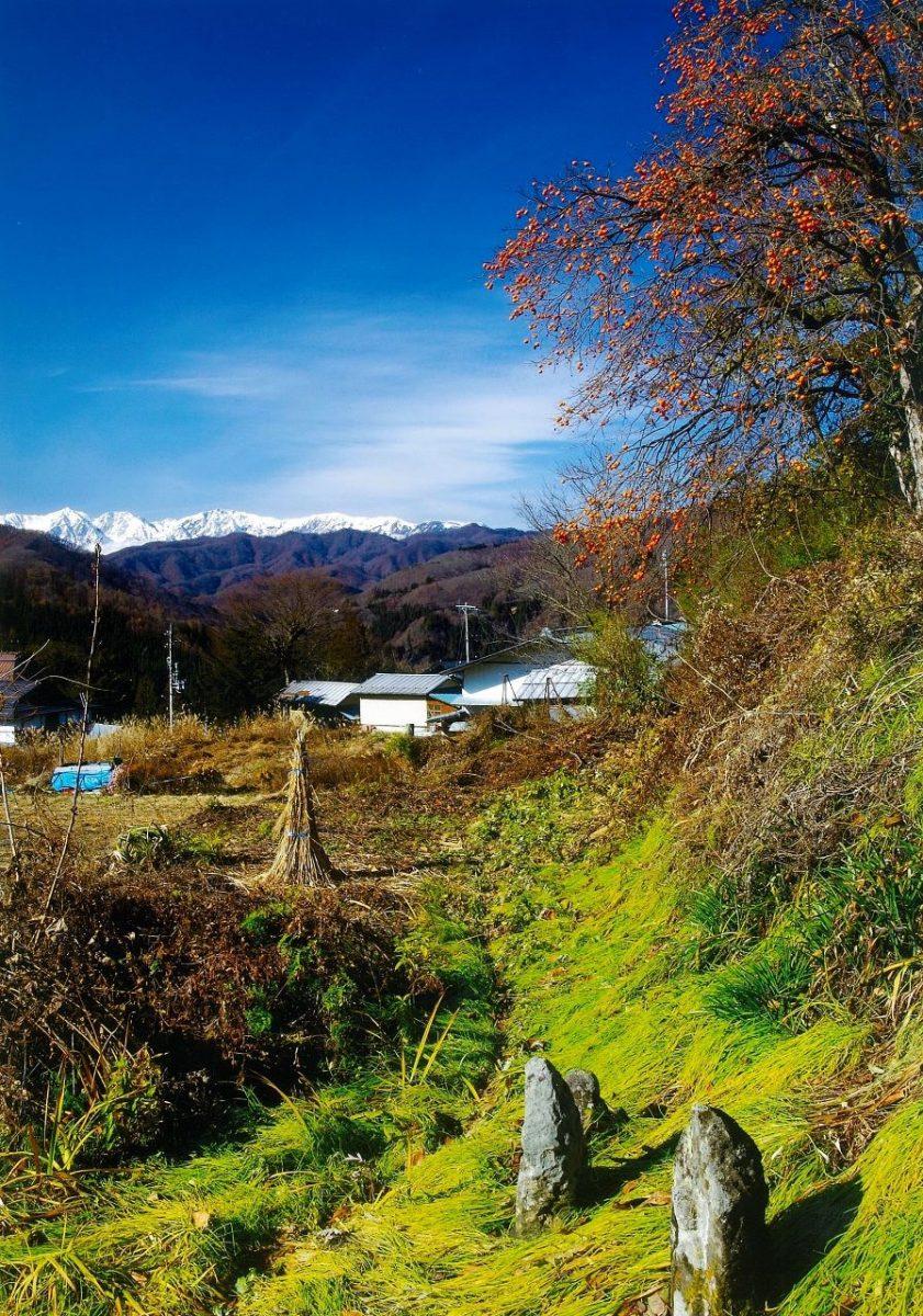 フォトコンテスト:道祖神の里に冬が来る