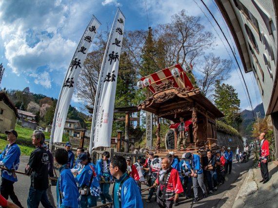 鬼無里神社 春の例大祭